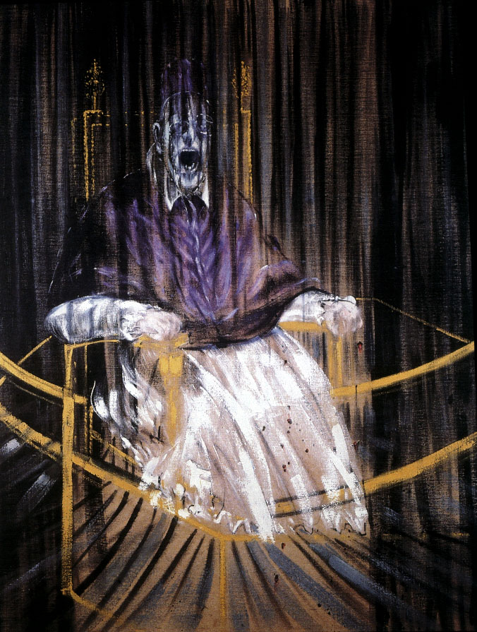 francis bacon pape innocent II violet