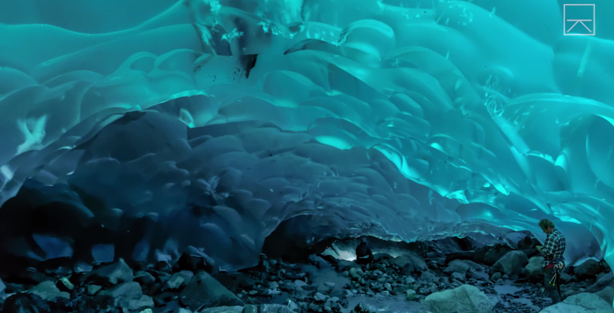 Grotte glace