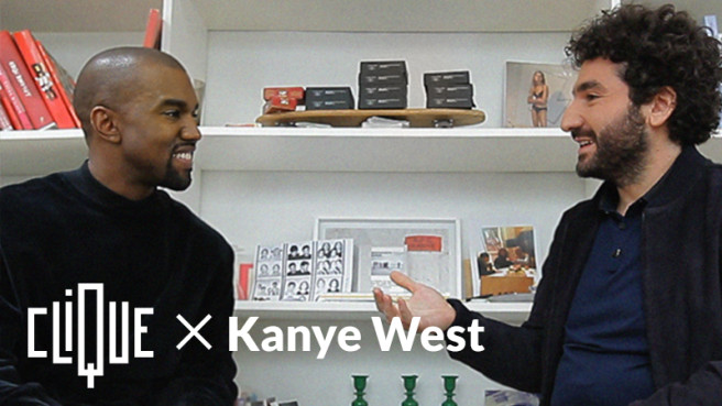 Photo interview Kanye west Mouloud Achour
