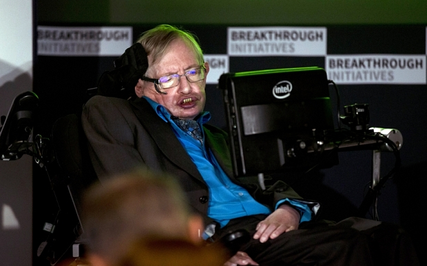 stephen hawking a la royal society