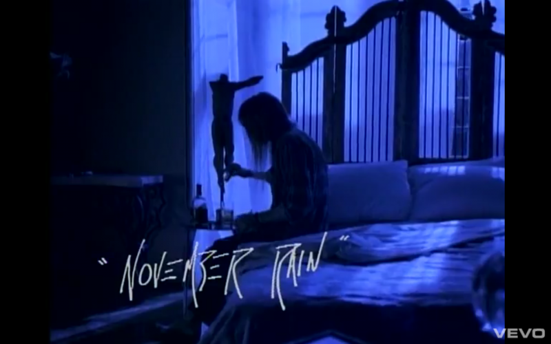 Guns and roses november rain single