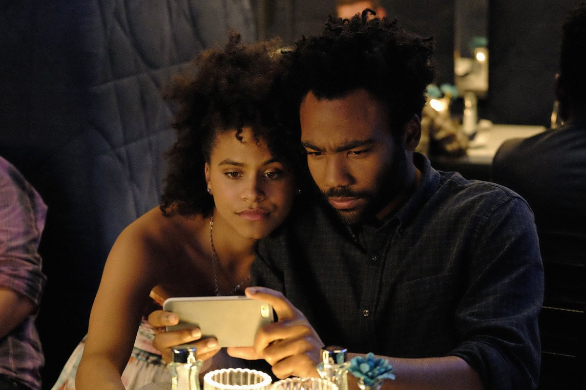 Childish Gambino et Zazie Beetz