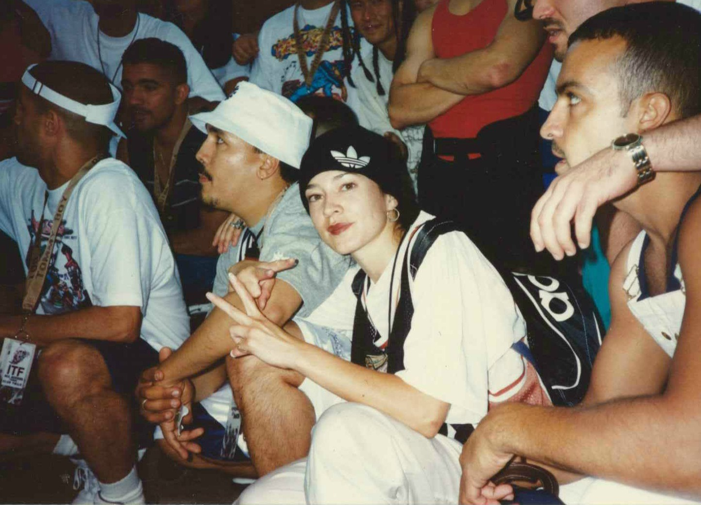 Rock Steady Crew, 1996. Courtesy of Asia One pour Red bull BC One