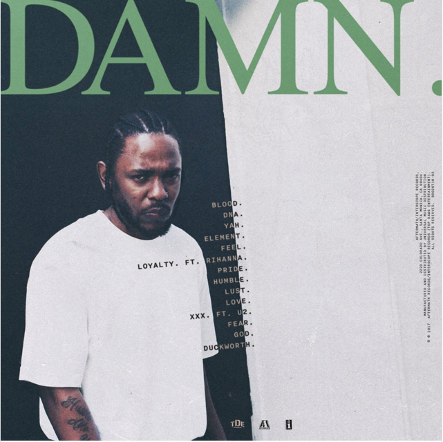 Back cover Kendrick