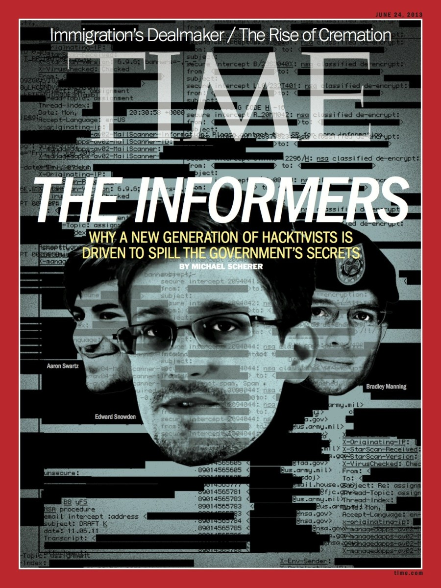 Couverture du Time