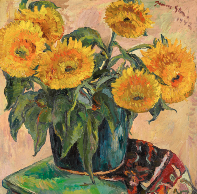 SUNFLOWERS Irma Stern