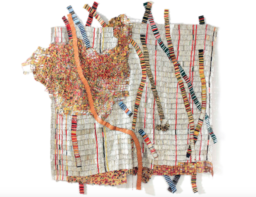 El Anatsui : EARTH DEVELOPING MORE ROOTS