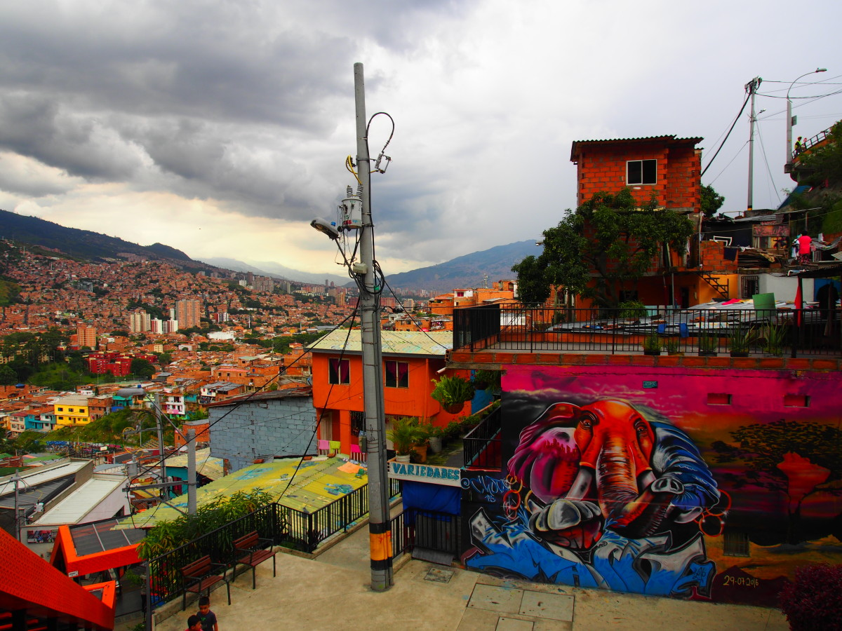 Elephant graffiti, Comuna 13